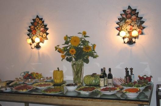 La Cuisine Italienne dans le Chianti