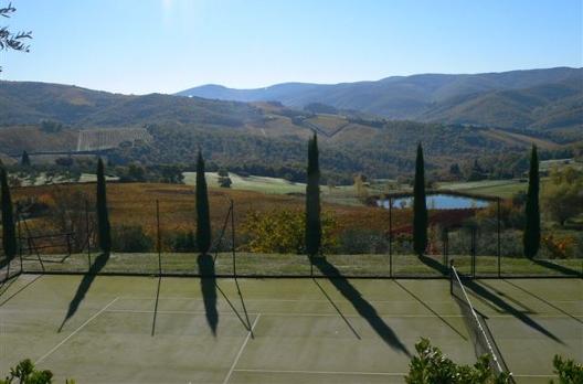 Villa Le Barone, un hotel de luxe et charme avec tennis en Toscane