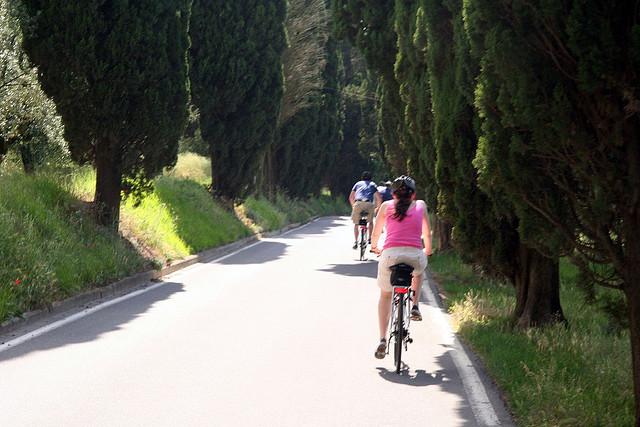 Cyclisme en Chianti