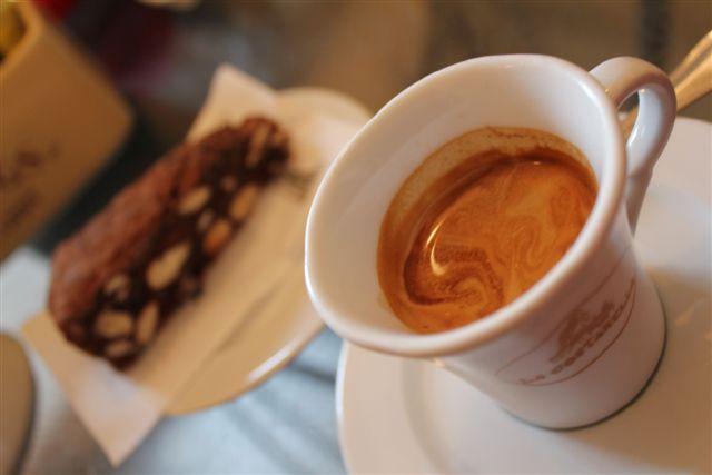 Café a en Toscane