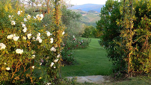 Un h tel de charme entour de jardins dans la campagne for Jardin de toscane