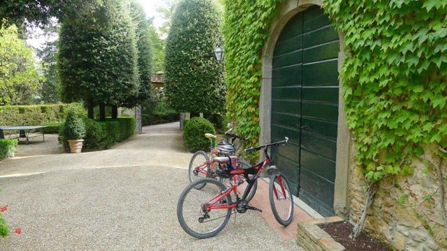 Chianti: randonnées cyclistes à partir d Villa le Barone
