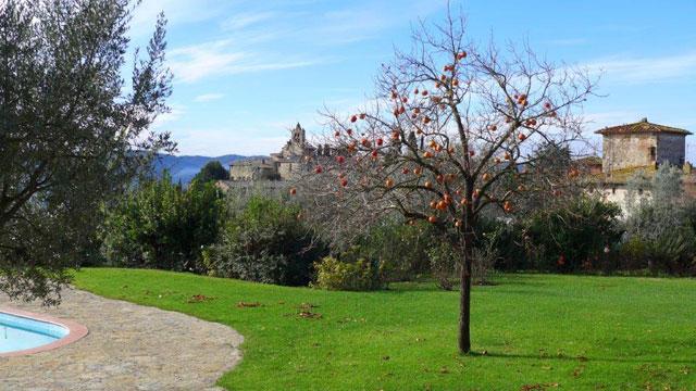Arbres fruitiers in chianti dans les jardins de l h tel for Les jardins de la villa booking