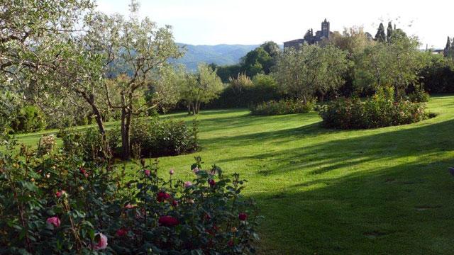 Un leu où se ressourcer Villa le Barone dans le Chianti