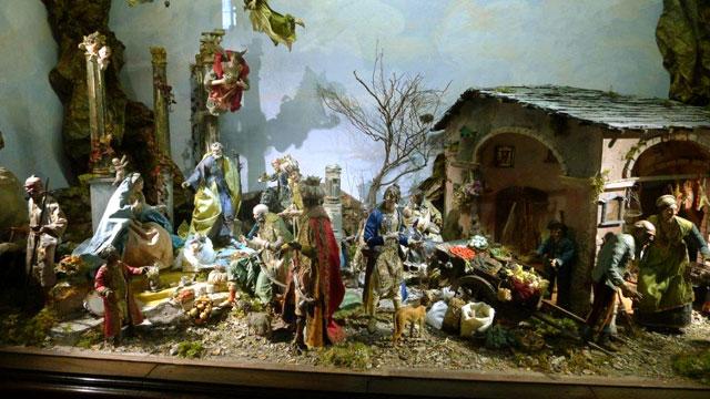 Crèche de Noël: une tradition Italienne