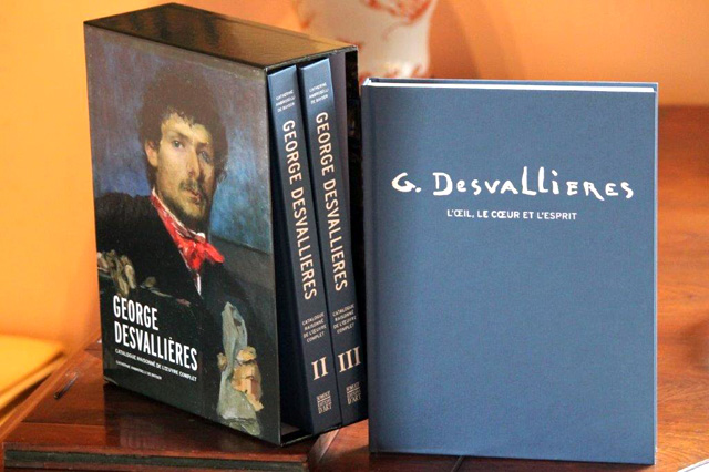 """Couverture du """"Catalogue raisonné"""" George Desvallières"""