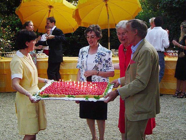Le 30ème anniversaire de Villa le Barone dans le Chianti