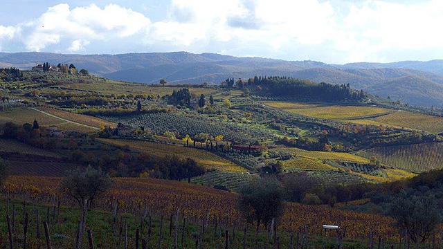 Automne en Toscane dans le Chianti