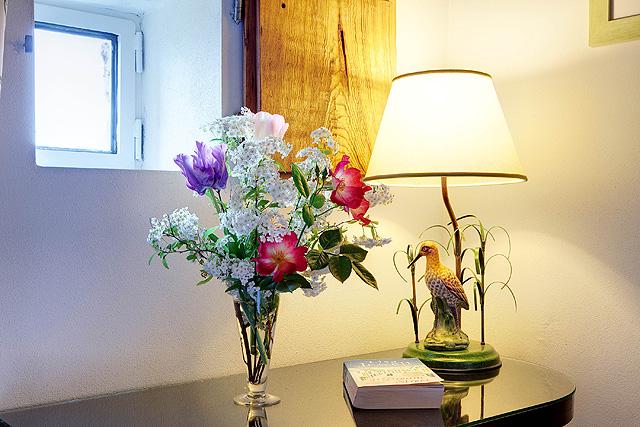 Planter les tulipes à Villa le Barone dans le Chianti