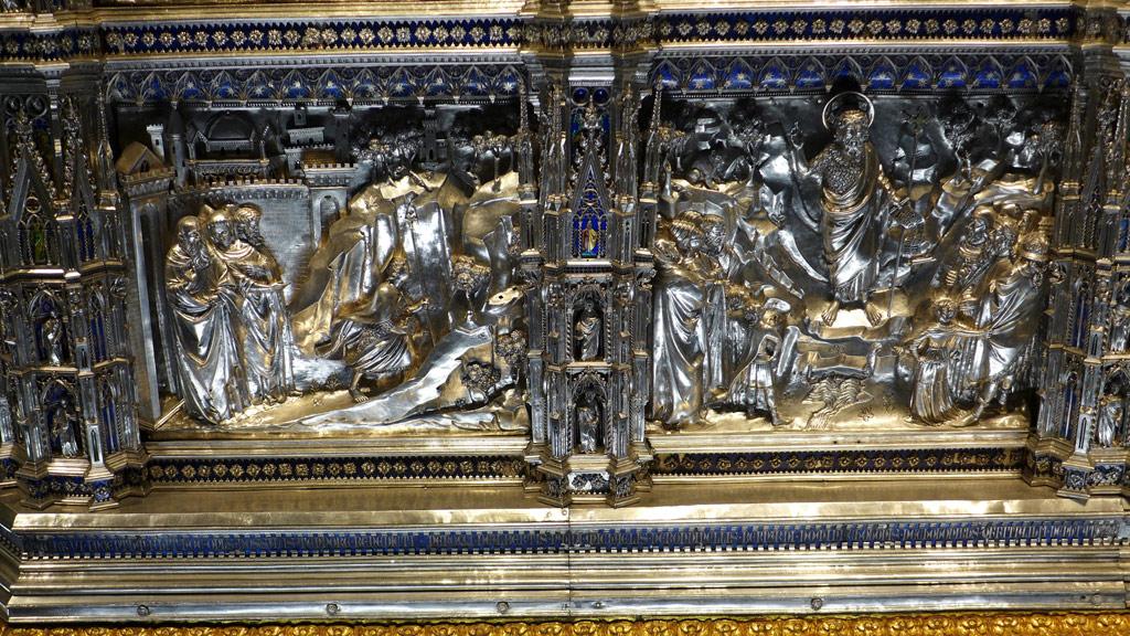Autel en argent Florence Musée de l'Opera del Duomo